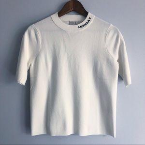 Tops - Twik by Simons Monday Ivory Shirt